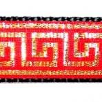 1ML108 Gold Key Design on Red