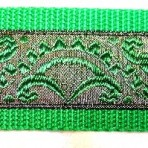 Green Scallops Martingale Lead #360