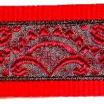 Red Scallops Martingale Lead #361