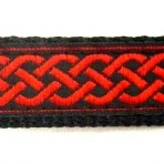 5ML187 Red Celtic Knot