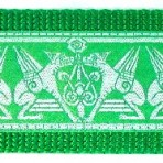 Green Griffons on Green Martingale Lead #767