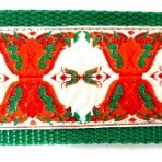 Orange Vases with Green Accents Martingale Lead #779
