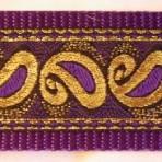 2LMC77 Purple Paisley