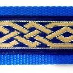 2LMC786 Celtic Knot on Blue