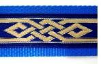 SLIP786 Celtic Knot on Blue