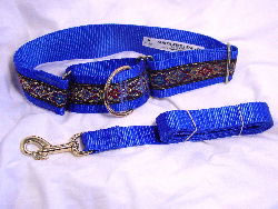large breed martingale collar with heavier hardware