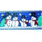 1MC937 Snowmen on Blue