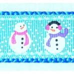 1MC940 Fat Snowmen with Scarves