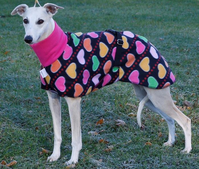 Phoenix wearing fleece