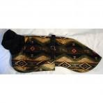 C3026 Green and Tan Navajo Minky Fabric
