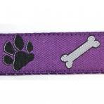 1MC571 Dog Paws and Bones on Purple