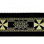 2MC812 Gold Maltese Cross