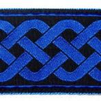 2MC815 Blue Celtic Latticework