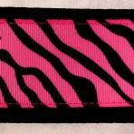 2MC832 Zebra Stripes on Hot Pink