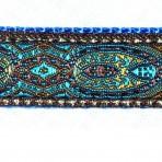 5MC205 Blue Konta Pattern