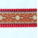 5MC211 Red Konta Pattern