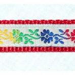 5MC212 Multi Color Chain of Flowers