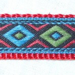5MC225 Blue and Green Diamonds