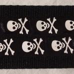 2ML303 Rows of Spooky Skulls