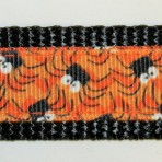 1MC313 Cluster of Spiders Halloween Martingale Collar