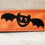 5MC314 Happy Vampire Bats Halloween Martingale Collar