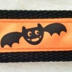 1MC314 Happy Black Bats Martingale Collar