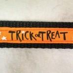5MC317 Trick or Treat Halloween Martingale Collar