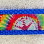 1MC600 Wild 60's Tie Dye Martingale Collar