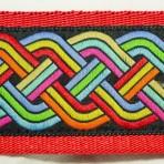 2LMC844 Multi Color Celtic Knot Martingale Collar