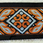 2LMC853 Coppery Medieval Martingale Collar