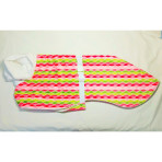 C3047 Lollipop Stripes Whippet Coat