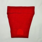 EP6049 Red  Textured Pattern Panty
